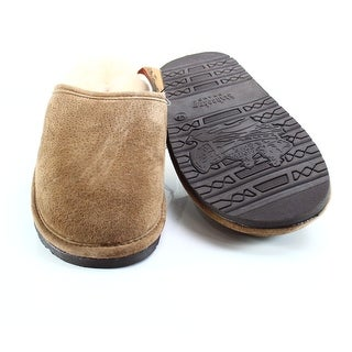 Staheekum NEW Brown Men's Size 9M Scuffs Leather Slippers Shoes