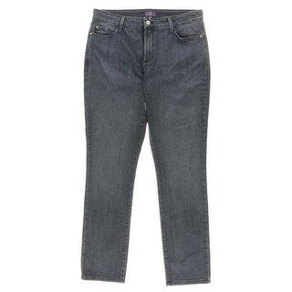 DKNY Womens High Waist Slimming Fit Skinny Jeans - 8