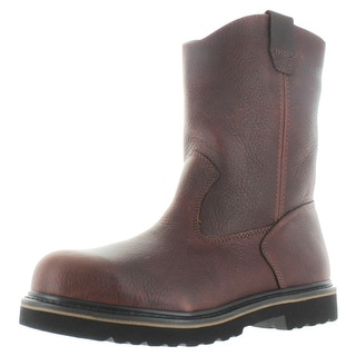 "Wolverine 10"" Wellington Men's Pull-On Boots Wide Width"