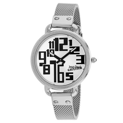 Jean Paul Gaultier Women's Index Silver Dial Watch - 8504311