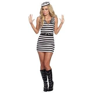 Women's Sexy Prisoner Costume