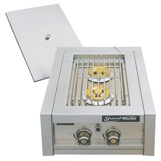 Barbeques Galore Grand Turbo Dual Side Burner