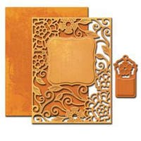 Tudor Rose - Spellbinders Nestabilities A2 Card Creator Dies