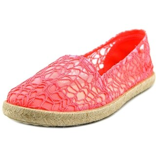 Rocket Dog Acosta Women Round Toe Canvas Pink Espadrille