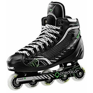 Tour Hockey Mens Fb-Lg72, Black/Green, 7