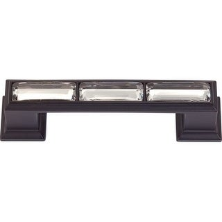 Atlas Homewares 341 Legacy Crystal 3 Inch Center to Center Handle Cabinet Pull
