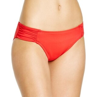 La Blanca Womens Hipster Ruched Swim Bottom Separates