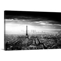 Jaco Marx Premium Thick-Wrap Canvas entitled Paris