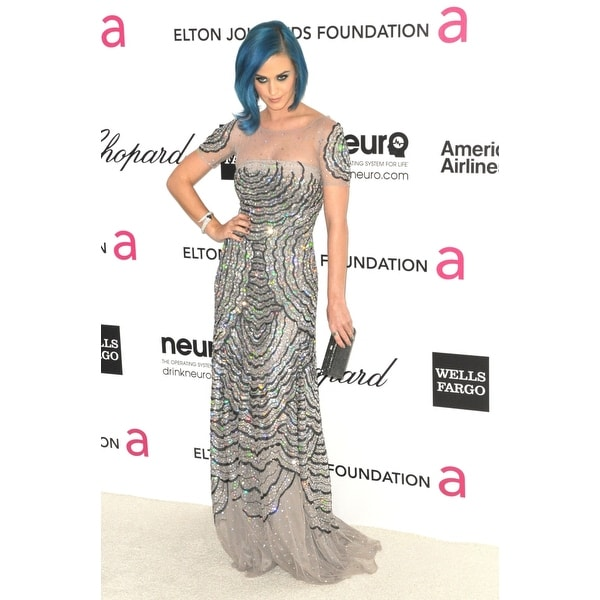 Katy Perry At Arrivals For 20Th Annual Elton John Aids Foundation Academy  Awards Viewing Party West Hollywood Park Los Angeles C
