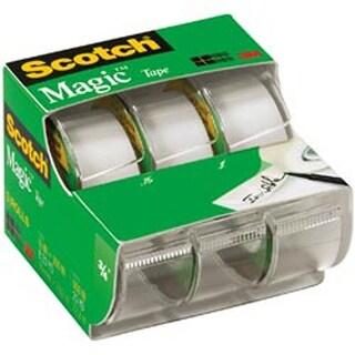 """.75""""X300"""" 3/Pkg - Scotch Magic Tape Matte"""