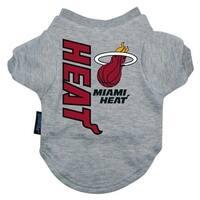 Miami Heat Pet T-Shirt - Small