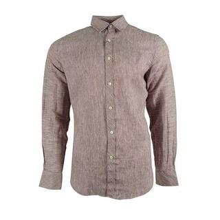Murano Men's Linen Blend Shirt