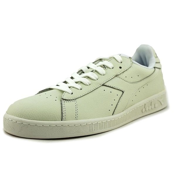 Diadora Game L Low Waxed Men Round Toe Synthetic White Sneakers