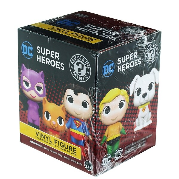 DC Heroes and Pets Funko Blind Packaging Mini Figure - multi