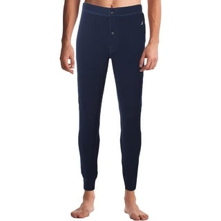Nautica Mens In The Navy Long John Pants Thermal Button Fly - L