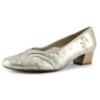 Ara Nao Women Round Toe Patent Leather Heels