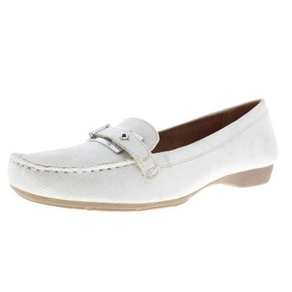 Naturalizer Womens Gisella Loafers Belted Moc Toe
