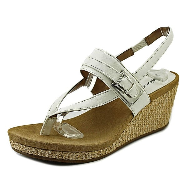 Style & Co Jodii Open Toe Synthetic Wedge Sandal
