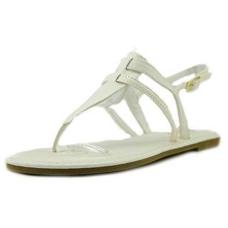 Sunny Feet Sequoia-27 Women Open Toe Synthetic Thong Sandal