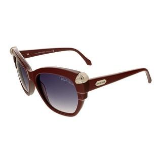 Roberto Cavalli RC907/S  69B Mesarthim Burgundy Square Sunglasses - 55-16-135
