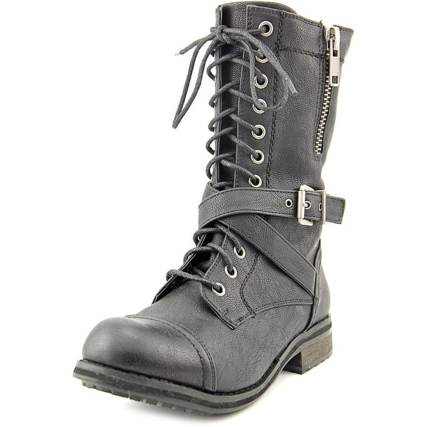 Bull Boxer Justice Women Black Boots