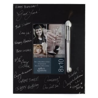 Gallery Solutions Black Signature Mat with Pen, 8 by 10-Inch|https://ak1.ostkcdn.com/images/products/is/images/direct/1537a9da74b60142bde7e8f52a0d8370736efb44/Gallery-Solutions-Black-Signature-Mat-with-Pen%2C-8-by-10-Inch.jpg?impolicy=medium