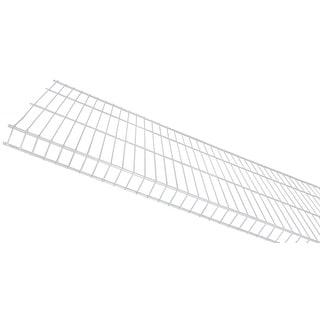 "Rubbermaid 41642  TightMesh 36"" Long Wire Shelf - White"