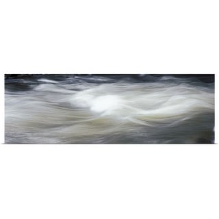 """""""River in motion, Colorado"""" Poster Print"""