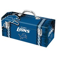 "Sainty 79-311 Detroit Lions NFL Tool Box, 10"""