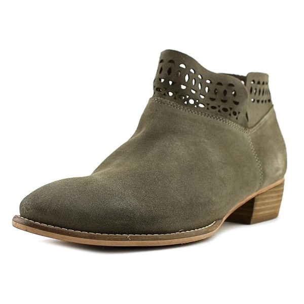 Seychelles Grab Women Round Toe Suede Tan Ankle Boot