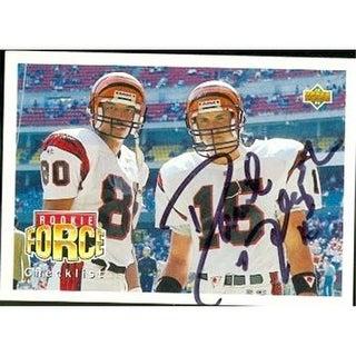 David Klingler Autographed Football Card Cincinnati Bengals 1992