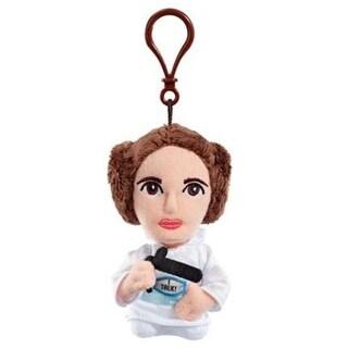 "Star Wars Mini 4"" Talking Plush Princess Leia Clip On"