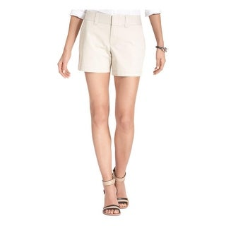 Tommy Hilfiger Womens Khaki, Chino Shorts Twill Solid (2 options available)