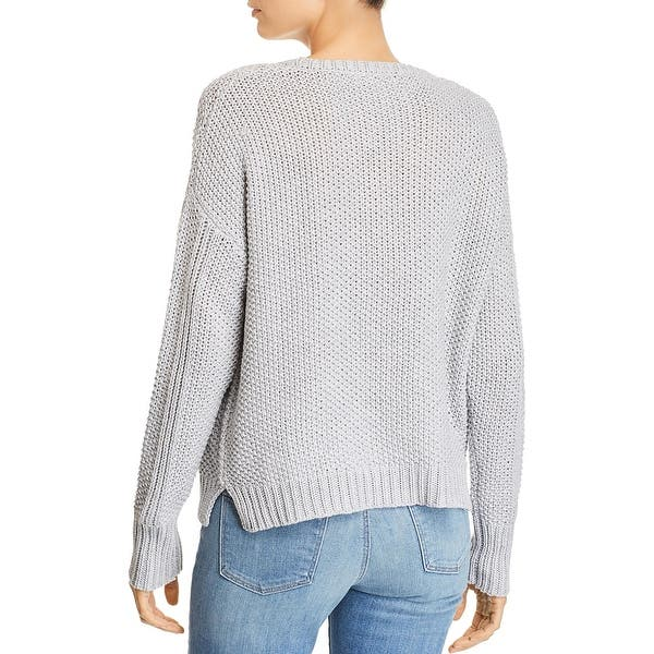 Angie Womens Cable Knit Sweater