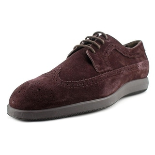 Hogan H209 Dress X Rest. Derby Bucat Round Toe Leather Oxford