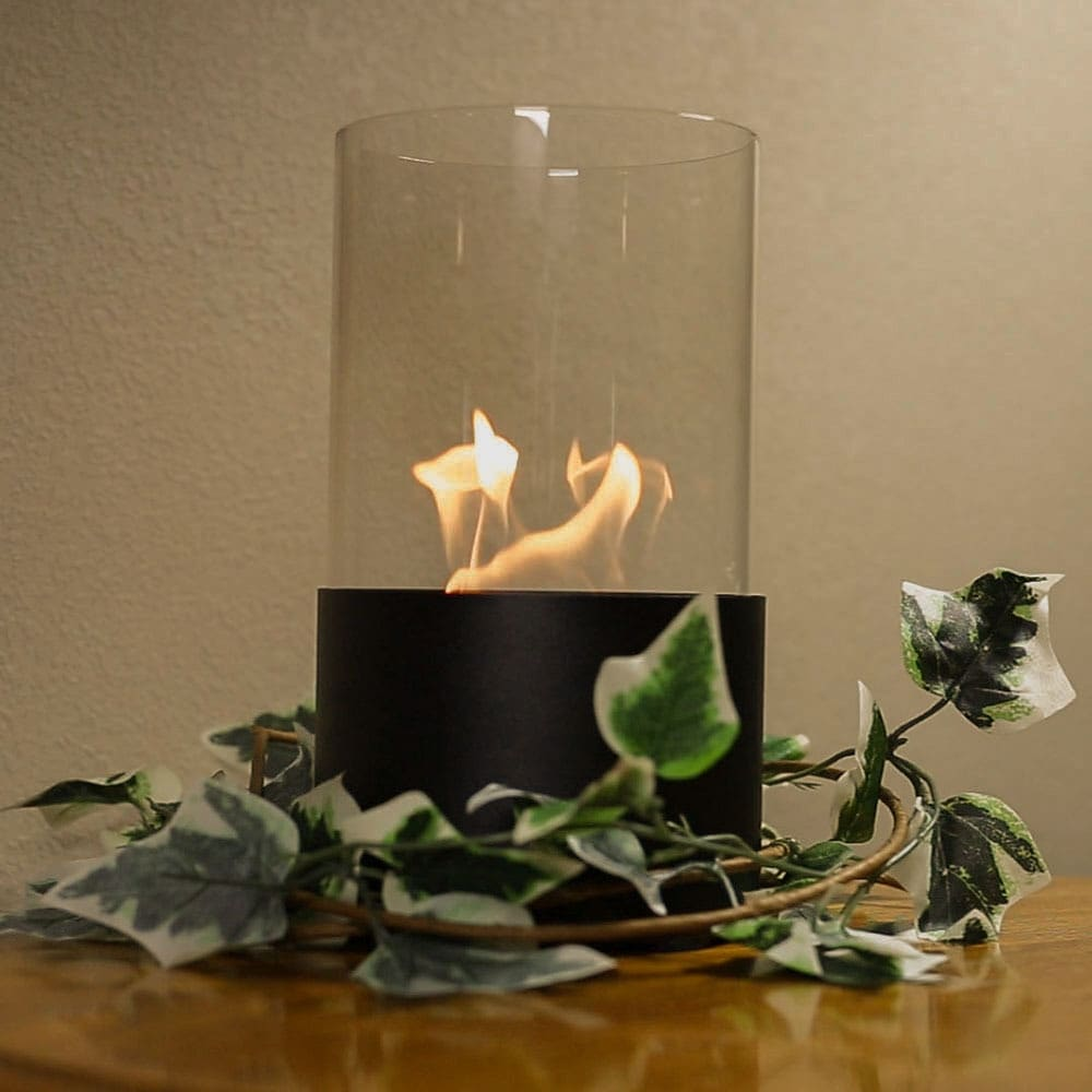 Sunnydaze Fiammata Ventless Tabletop Bio Ethanol Fireplace - Color Options Available - Thumbnail 0