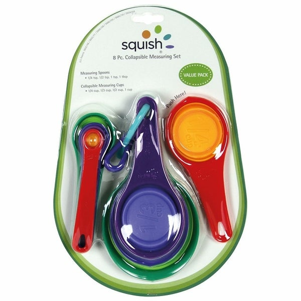 Squish Collapsible Measuring Cups Spoons