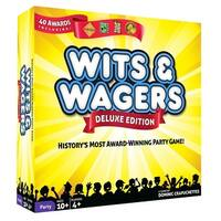 Wits & Wagers Deluxe Board Game - multi