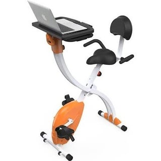 Home & Office Exercise Bike with Upright Bicycle Pedaling Fitness