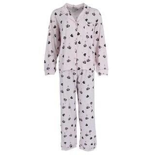 Elegant Emily Women's Plus Size Pajama Set