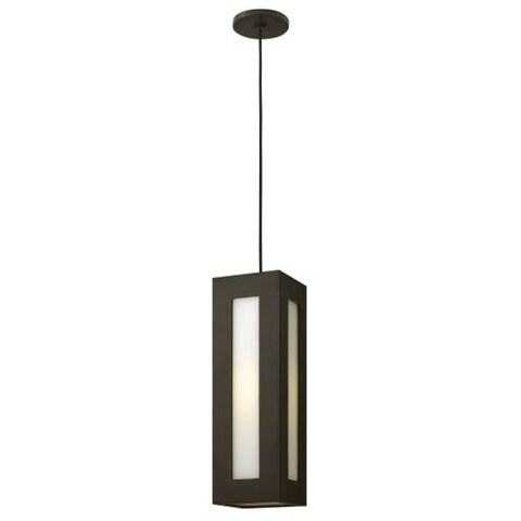 Hinkley Lighting 2192 1 Light Outdoor Small Pendant from the Dorian Collection