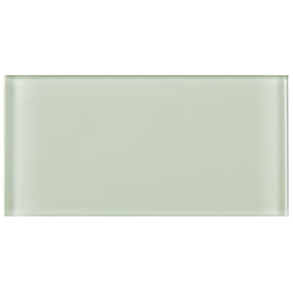 Tilegen 3 X 6 Gl Subway Tile In Mint White Wall 80 Tiles 10sqft