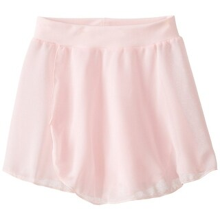 Capezio Girls Pull-On Skirt, Pink, Large