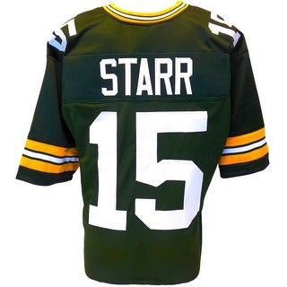 Bart Starr Unsigned Custom Green Pro-Style Football Jersey XL