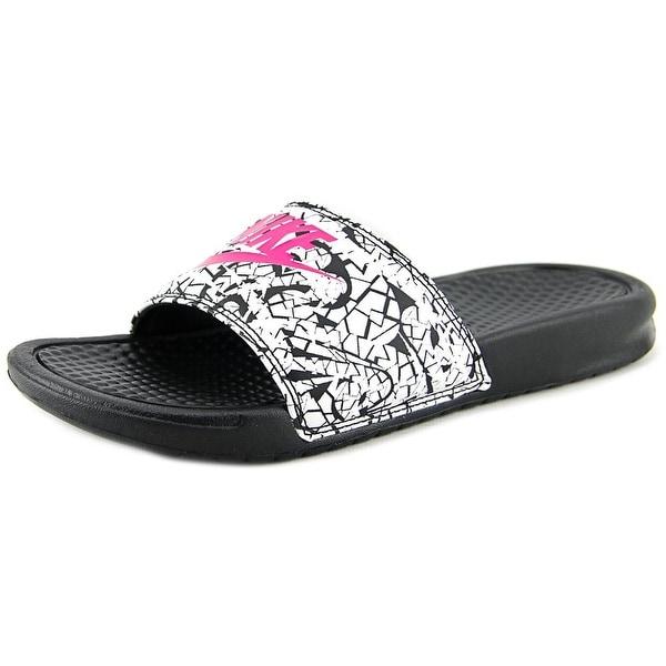 474a9da0fd53 9aeda 452ff order nike benassi jdi print women open toe synthetic black slides  sandal 4e686 c9231 ...
