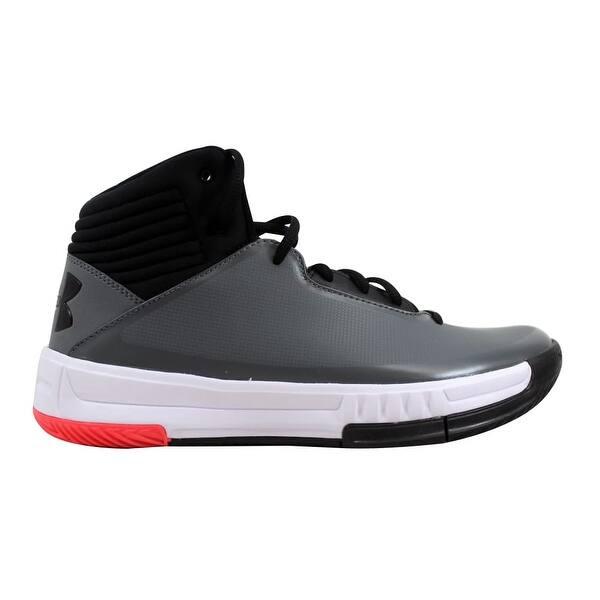 online store 7a901 e40dc Under Armour Men s Lockdown 2 Graphite Black-Black 1303265-101 Size ...
