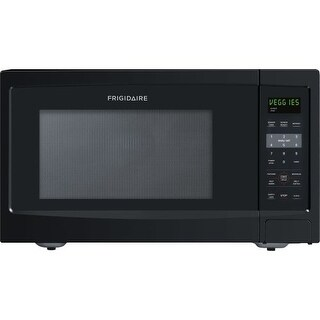 Frigidaire FFCE1638L 1.6 Cubic Foot Countertop Microwave Oven with Easy-Set Start and Ready-Select Controls (2 options available)