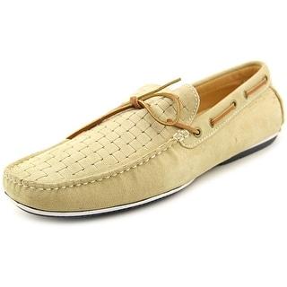 Bacco Bucci Kinkade Men Moc Toe Leather Boat Shoe