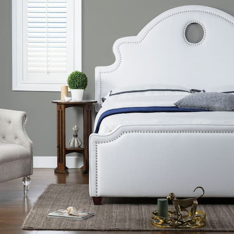 Gracewood Hollow Grant Tall Keyhole Panel Headboard Bed