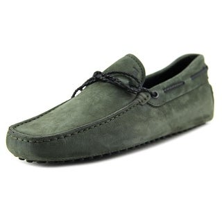 Tod's Lacetto My Colors New Gommini 122 Moc Toe Suede Loafer